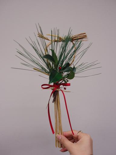 「クリスマスリース・しめ縄作り」イベントを開催しました☆_b0049307_10511085.jpg