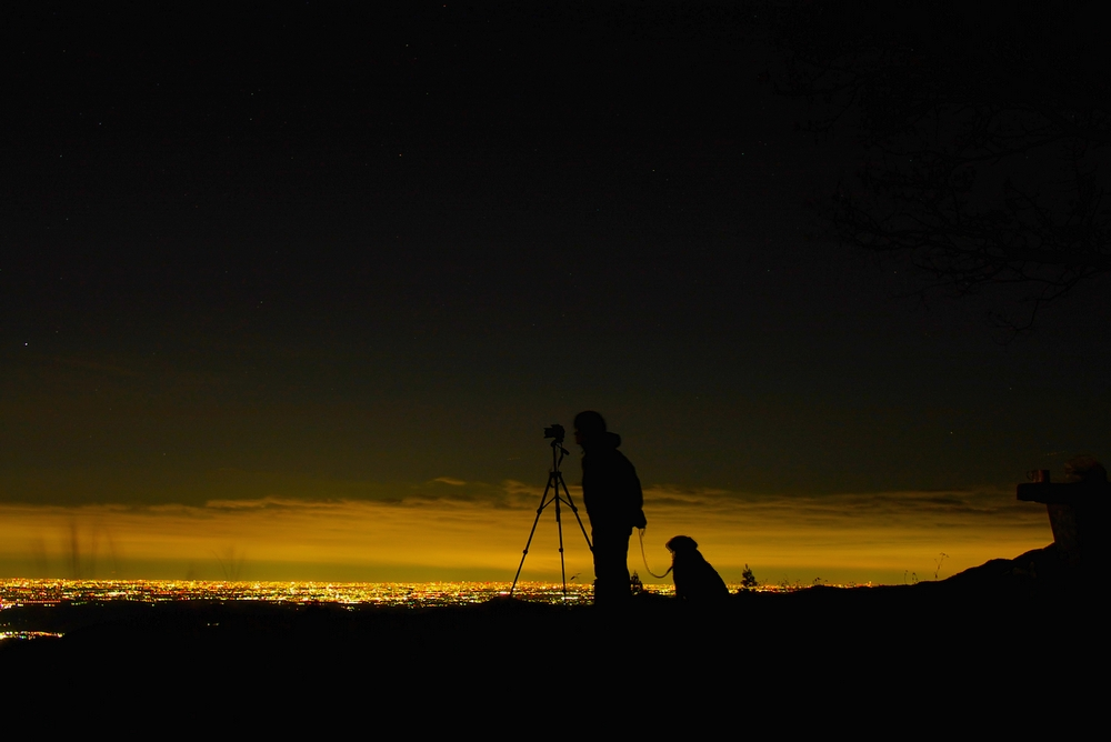 12/10 晴れ 夜景撮影(再び登谷山)_a0060230_22382732.jpg