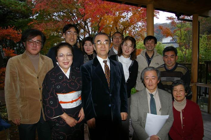 北鎌倉湧水ネットワークのこの1年(兼松邸で忘年会 12・9)_c0014967_2383661.jpg