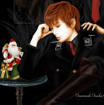 戦場のメリークリスマス?ガクさん(笑)_c0036138_231742.jpg