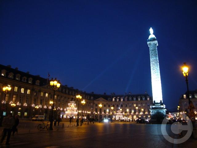 ■ヴァンドーム広場 Place Vendome(PARIS)_a0008105_22194950.jpg
