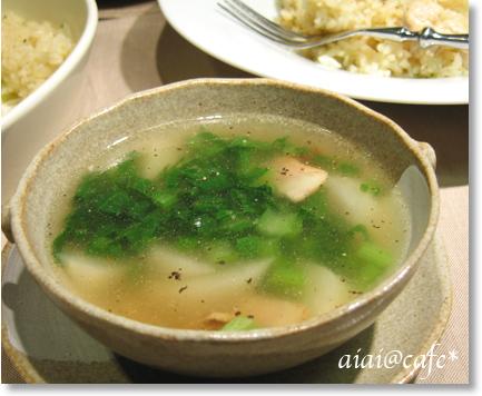 カブと青菜のスープ_a0056451_11595684.jpg