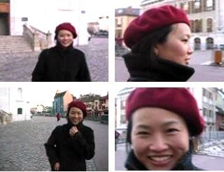 ベレー帽とAu revoir!_a0008516_6142421.jpg