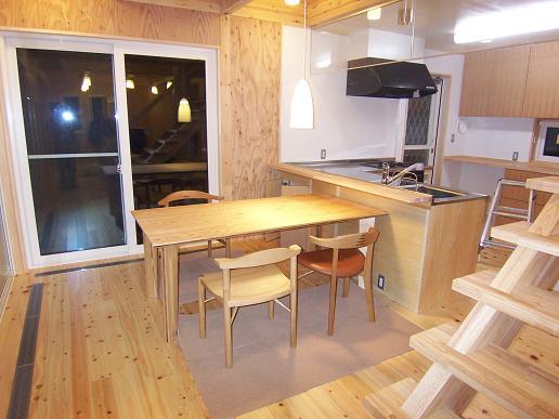 「小砂の家」 完成見学会 2006/12/16_a0039934_19343853.jpg