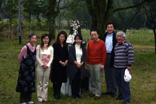 池坊美佳さんin our garden♪_a0072251_0221382.jpg