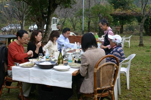 池坊美佳さんin our garden♪_a0072251_062716.jpg