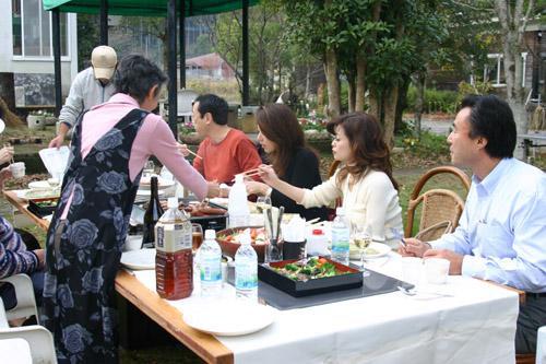 池坊美佳さんin our garden♪_a0072251_065428.jpg