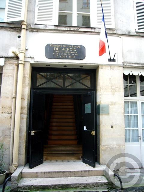 【MUSEE  DELACROIX 】ドラクロワDelacroix美術館(PARIS)_a0008105_725846.jpg