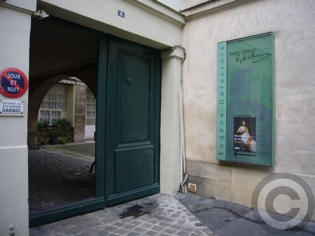 【MUSEE  DELACROIX 】ドラクロワDelacroix美術館(PARIS)_a0008105_72955.jpg