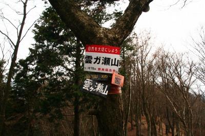 伊勢辻山(1290m) 雲ガ瀬山 ハンシ山 三重と奈良県の県境_d0055236_14174943.jpg