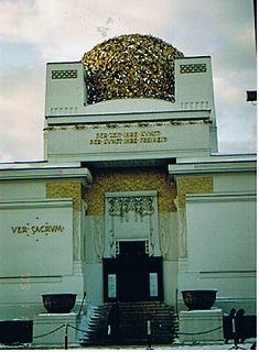 """ウィーン「ゼツェッション館」 1898年  """"2003中欧_c0087349_5194036.jpg"""