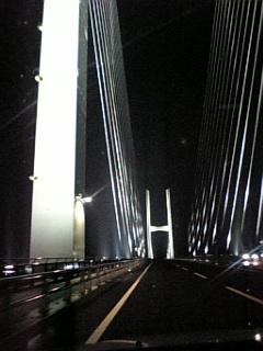 雨の『初・女神大橋』_d0052485_27376.jpg