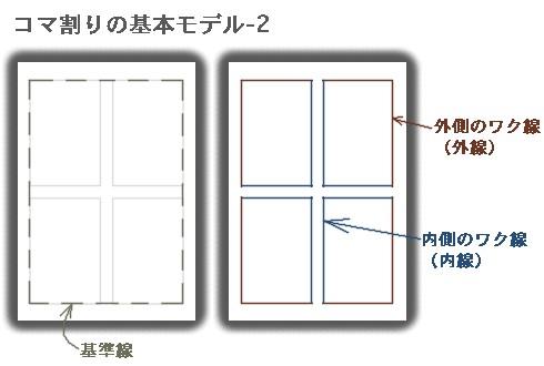 コマ割りの基本モデル-2