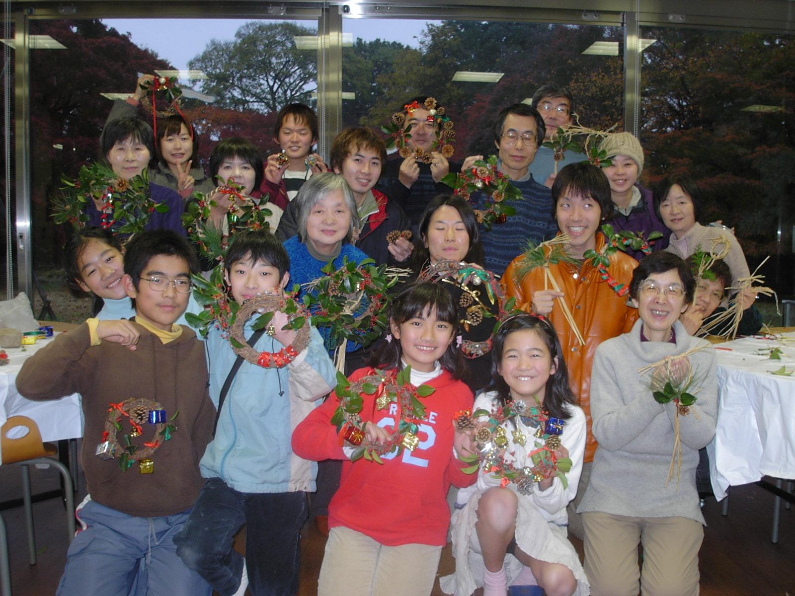 「クリスマスリース・しめ縄作り」イベントを開催しました☆_b0049307_10335054.jpg