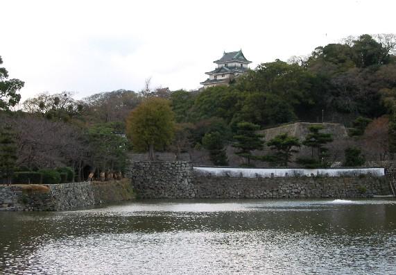 和歌山城と堀と鳥_b0093754_018457.jpg