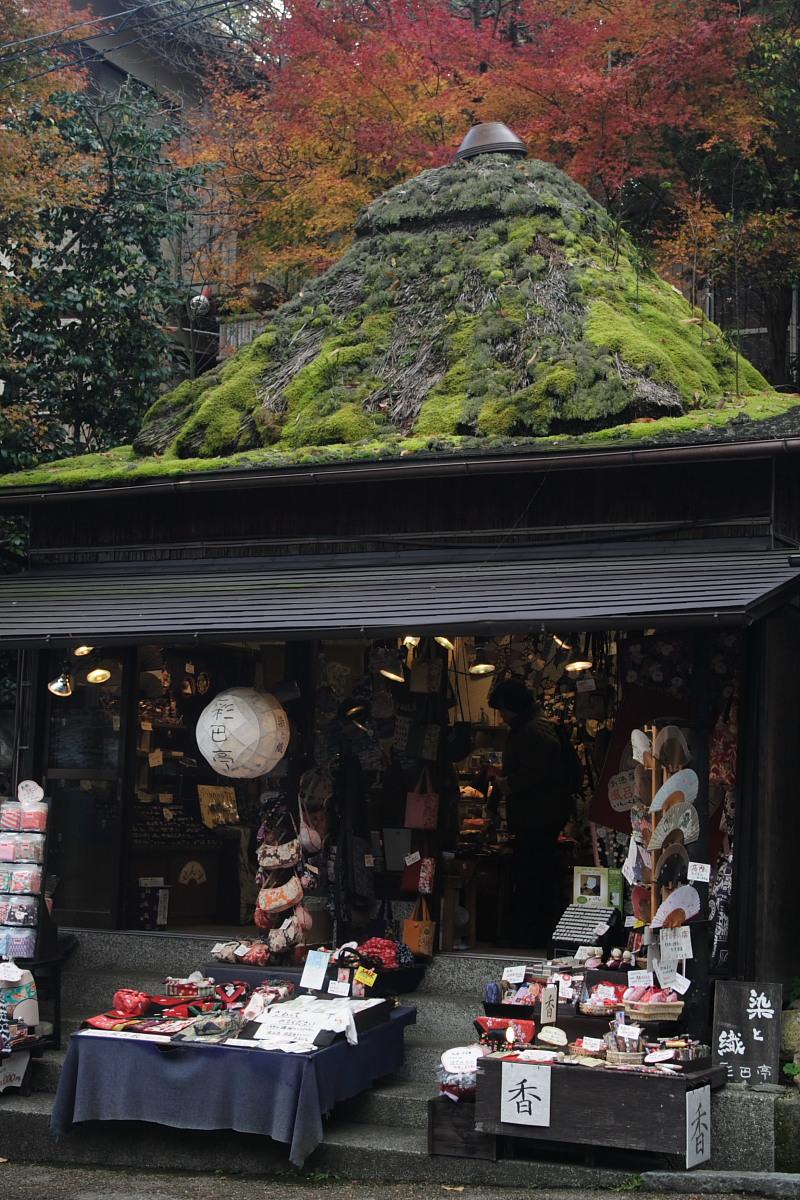 京都 嵯峨野 <鳥居本> 紅葉 7_f0021869_21224425.jpg