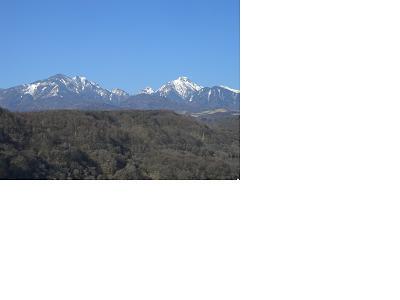 八ヶ岳高原大橋からの八ヶ岳_f0111415_1161462.jpg