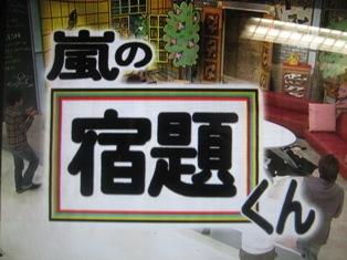 日本テレビ放送・渡辺満里奈・『嵐の宿題くん』_f0070743_1815960.jpg