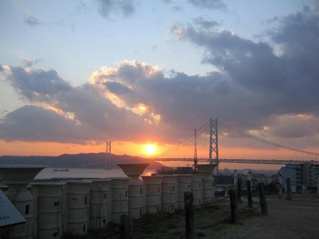 夕日がきれいです_f0079749_23225927.jpg