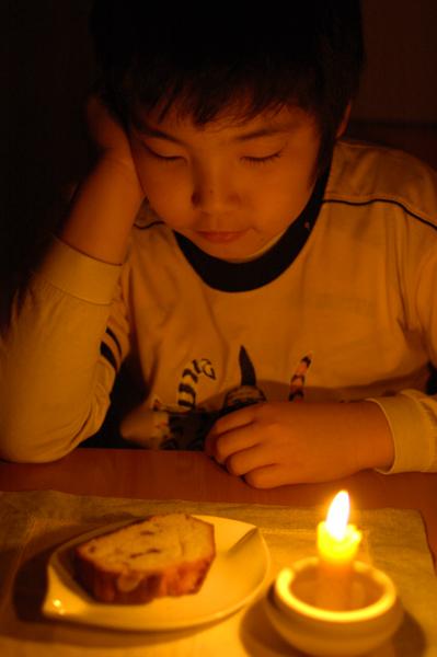 冬至の夜に ろうそくの光_a0003650_2325981.jpg