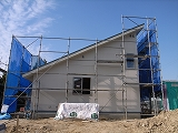 「3.5間角の家」 内装工事_f0059988_8442791.jpg