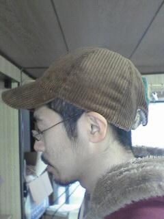 コーデュロイキャップ_e0101537_14315418.jpg