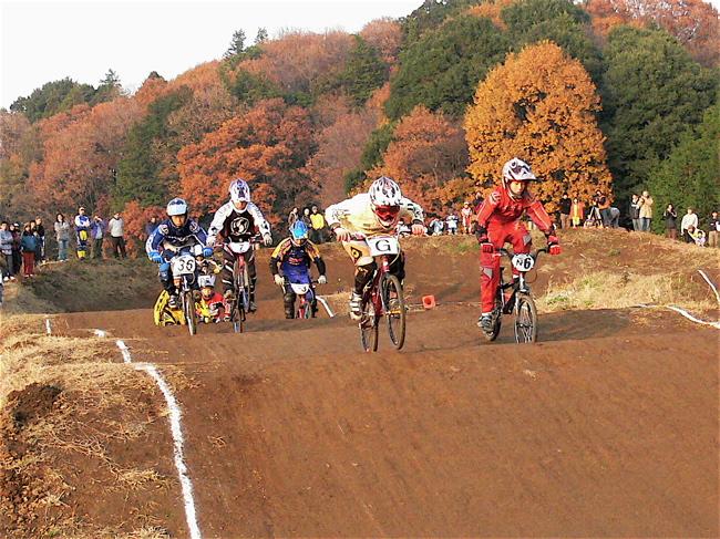 JOSF緑山2006ファイナルレース VOL 9 BMXジュニアクラスとミドルクラス準決勝〜決勝画像垂れ流し_b0065730_22173350.jpg