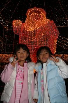 年賀状の写真は…!天神の警固公園♪クリスマス・イルミネーション♪_d0082356_6471536.jpg