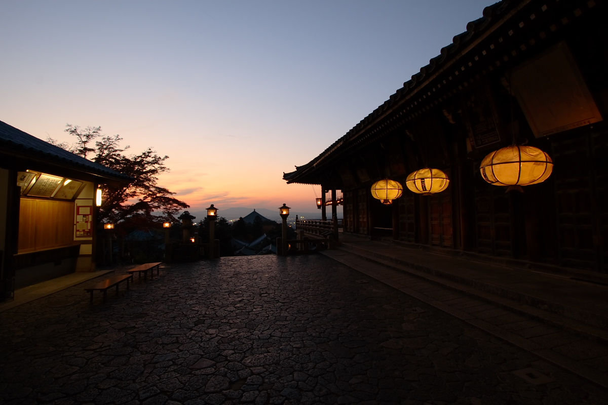 奈良公園 7 <二月堂> _f0021869_14112386.jpg