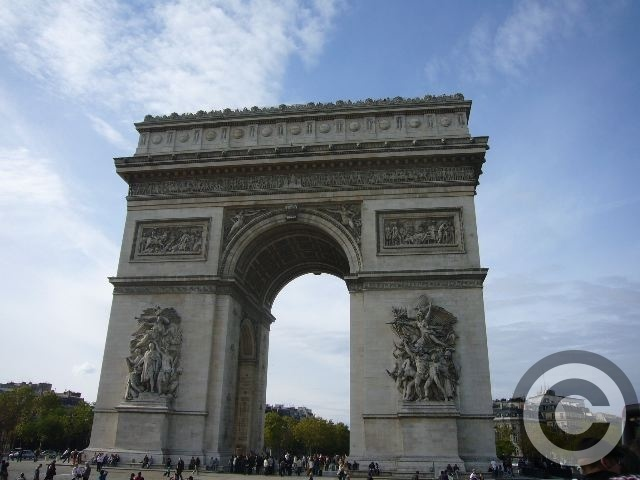 ■凱旋門Arc de triomphe _a0008105_22612100.jpg