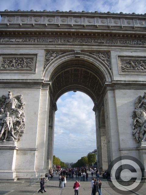 ■凱旋門Arc de triomphe _a0008105_2263268.jpg