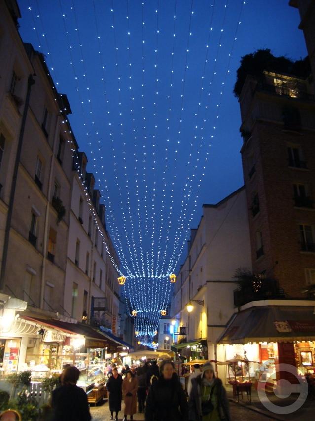 ■ムフタール界隈(パリ5区)のイルミネーション(PARIS)_a0008105_7425137.jpg