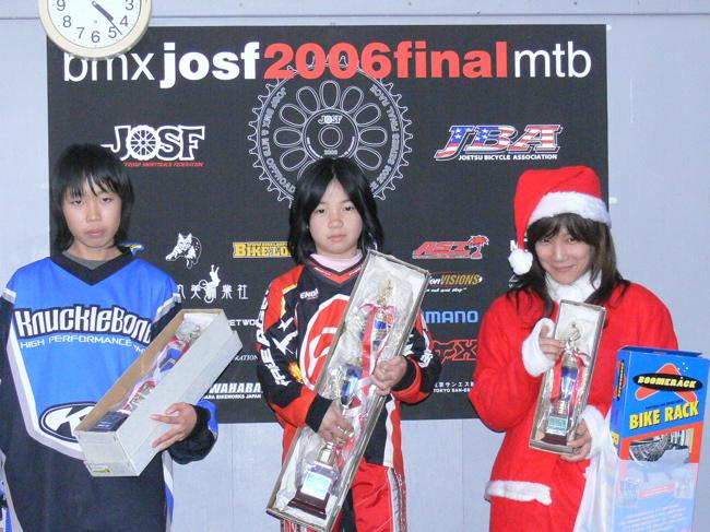 JOSF緑山2006ファイナルレース 最終回 MTB ガールズ、ノービス、30オーバークラスの決勝画像垂れ流し_b0065730_20583441.jpg