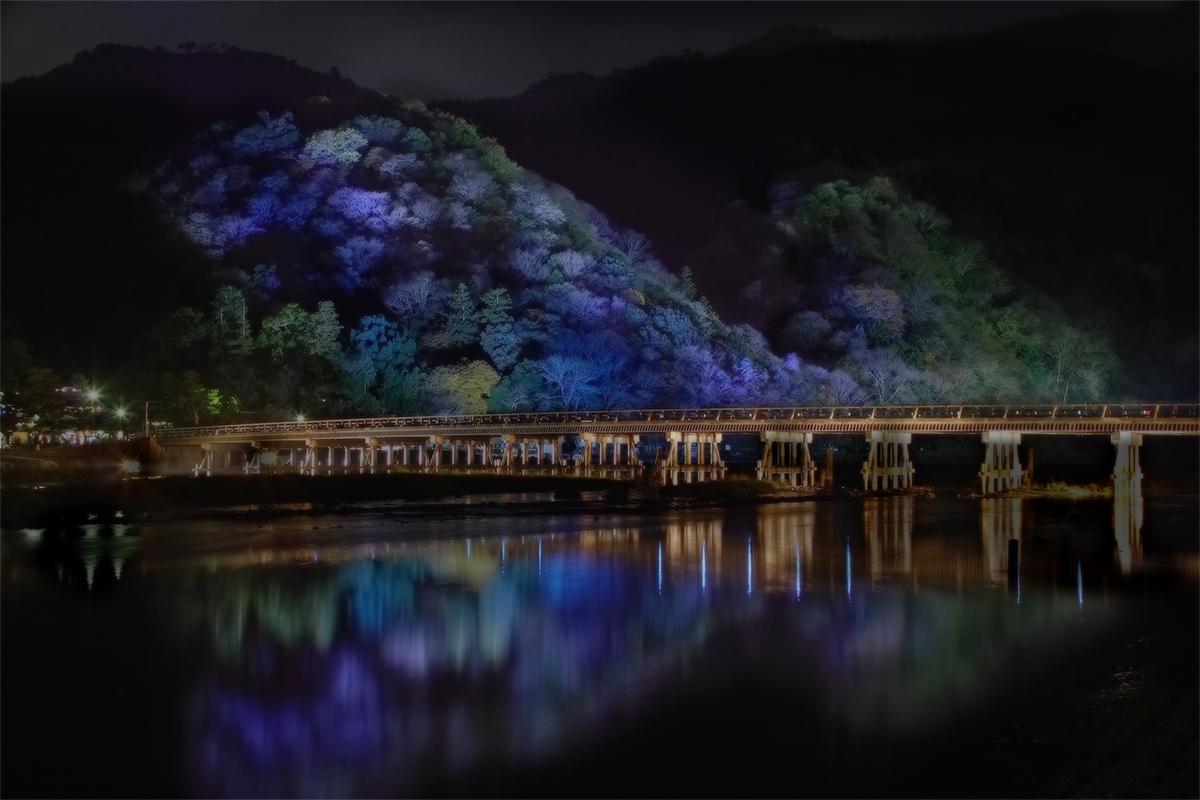 京都 嵯峨野 <嵐山花灯篭>  _f0021869_21434375.jpg