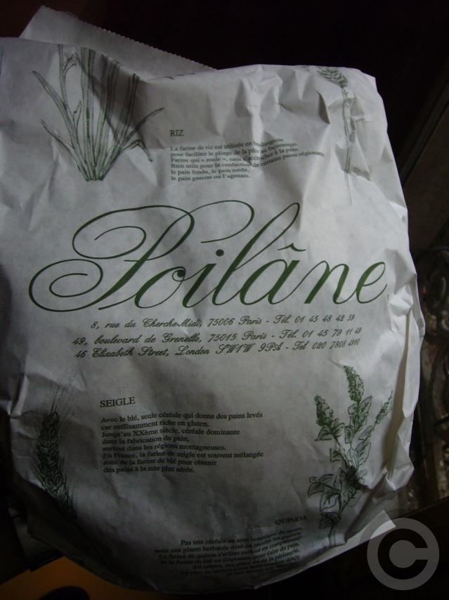 【ポワラーヌ】納得のパンRue du Cherche-midi(PARIS)_a0014299_8155750.jpg