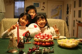 ★子ども達の手作り料理★で…クリスマスパーティー♪…子どもってスゴイ!_d0082356_8111127.jpg
