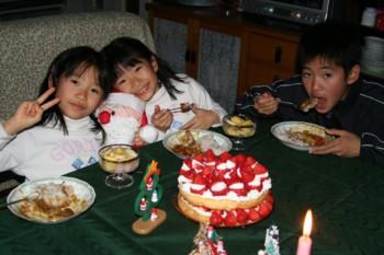 ★子ども達の手作り料理★で…クリスマスパーティー♪…子どもってスゴイ!_d0082356_8111983.jpg