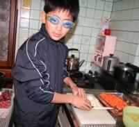 ★子ども達の手作り料理★で…クリスマスパーティー♪…子どもってスゴイ!_d0082356_811357.jpg