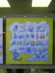 ハナヱ•ビル展示2(バブールのお部屋)_a0039720_911448.jpg