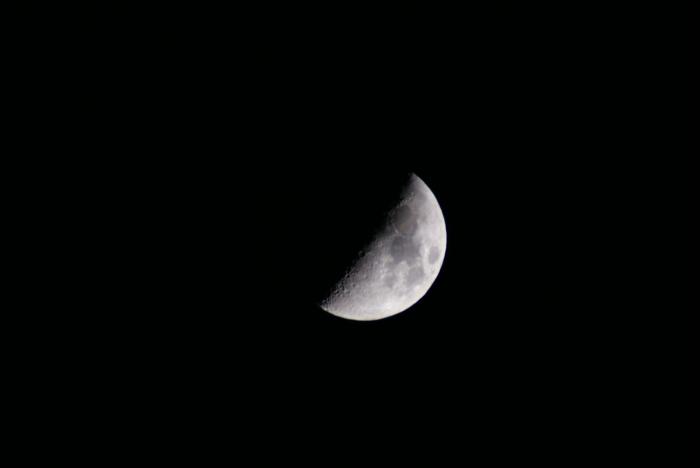 上弦の月、月齢6.4_e0077521_0175489.jpg