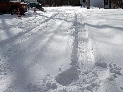 どかっと雪が積もりました。_d0102327_2355575.jpg
