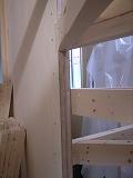 「3.5間角の家」 階段_f0059988_1233071.jpg