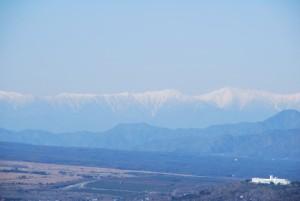 明神山から見た 南アルプスの山々_f0110366_2336886.jpg