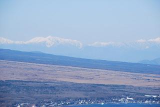 明神山から見た 南アルプスの山々_f0110366_23384711.jpg