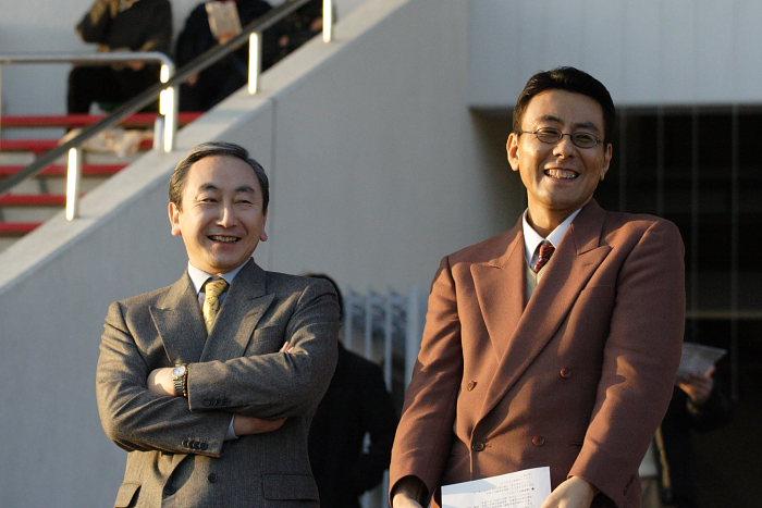 2006年12月31日(日) 高知競馬 高知県知事賞 表彰式_a0077663_19553411.jpg