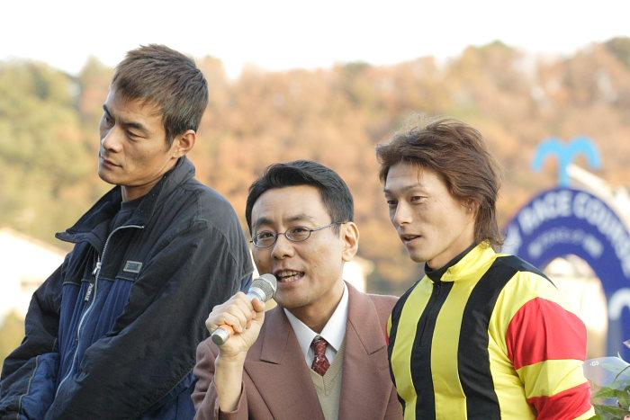 2006年12月31日(日) 高知競馬 高知県知事賞 表彰式_a0077663_19564479.jpg
