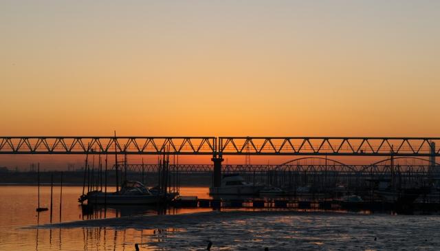 河口の朝・1_f0018464_7514169.jpg