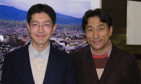 川田龍平さんと写真撮影。_f0121982_22235871.jpg