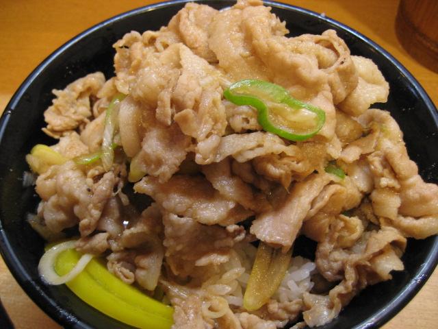 スタミナ食堂のスタミナ丼(肉増し)@八王子_b0042308_0591952.jpg