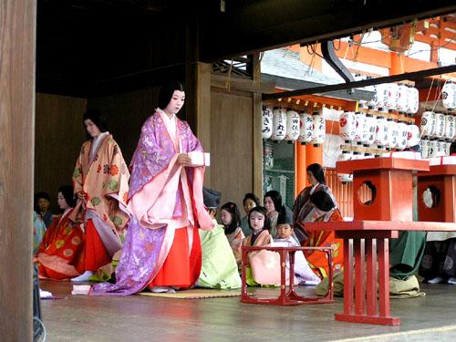 八坂神社 かるた始め_e0048413_19504248.jpg